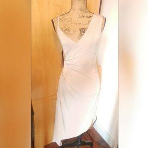 Topshop tan dress